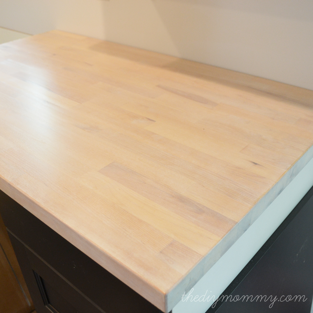 Superbe How To Stain And Seal A Butcher Block Countertop