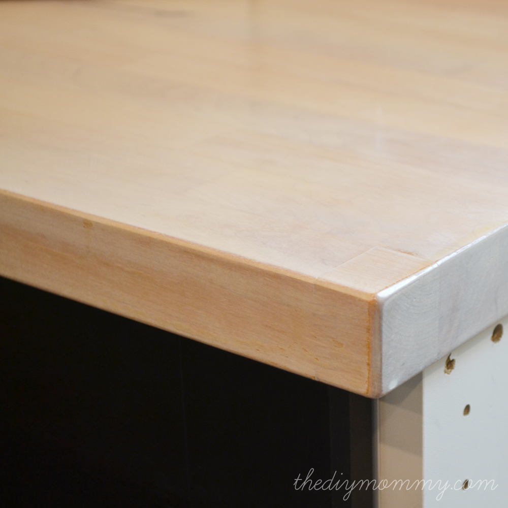 Delicieux How To White Wash Stain And Seal A Butcher Block Countertop