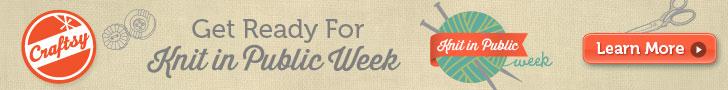 Knit In Public Week 2013
