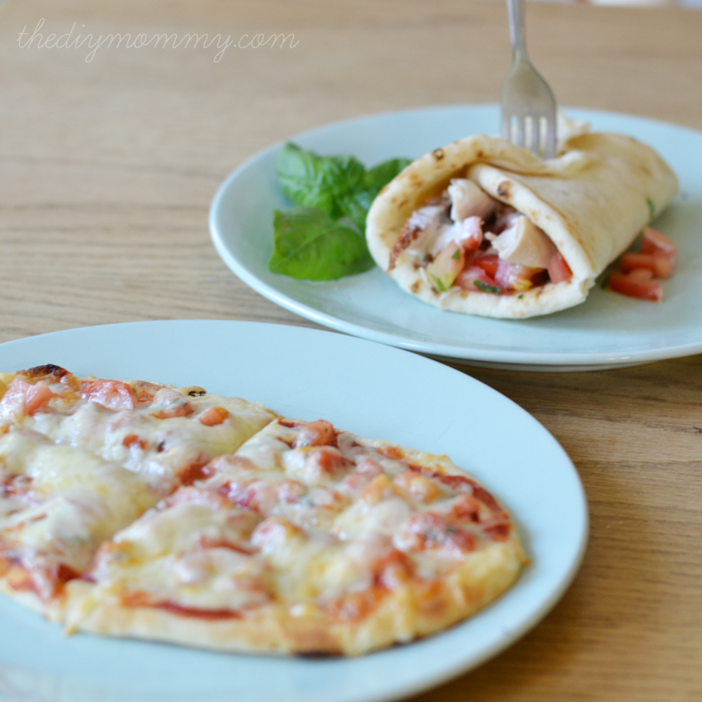 Handmade Bruschetta on Flatbread: Two Family-Friendly Ways - The DIY Mommy