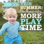 Less Screen Time & More Play Time - The Michaels Unplugged Summer Pact - The DIY Mommy