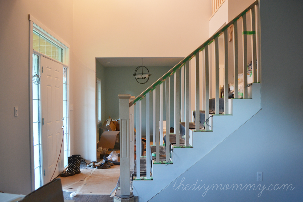 Finishing Our Stair Railings More Peeks At Our Almost