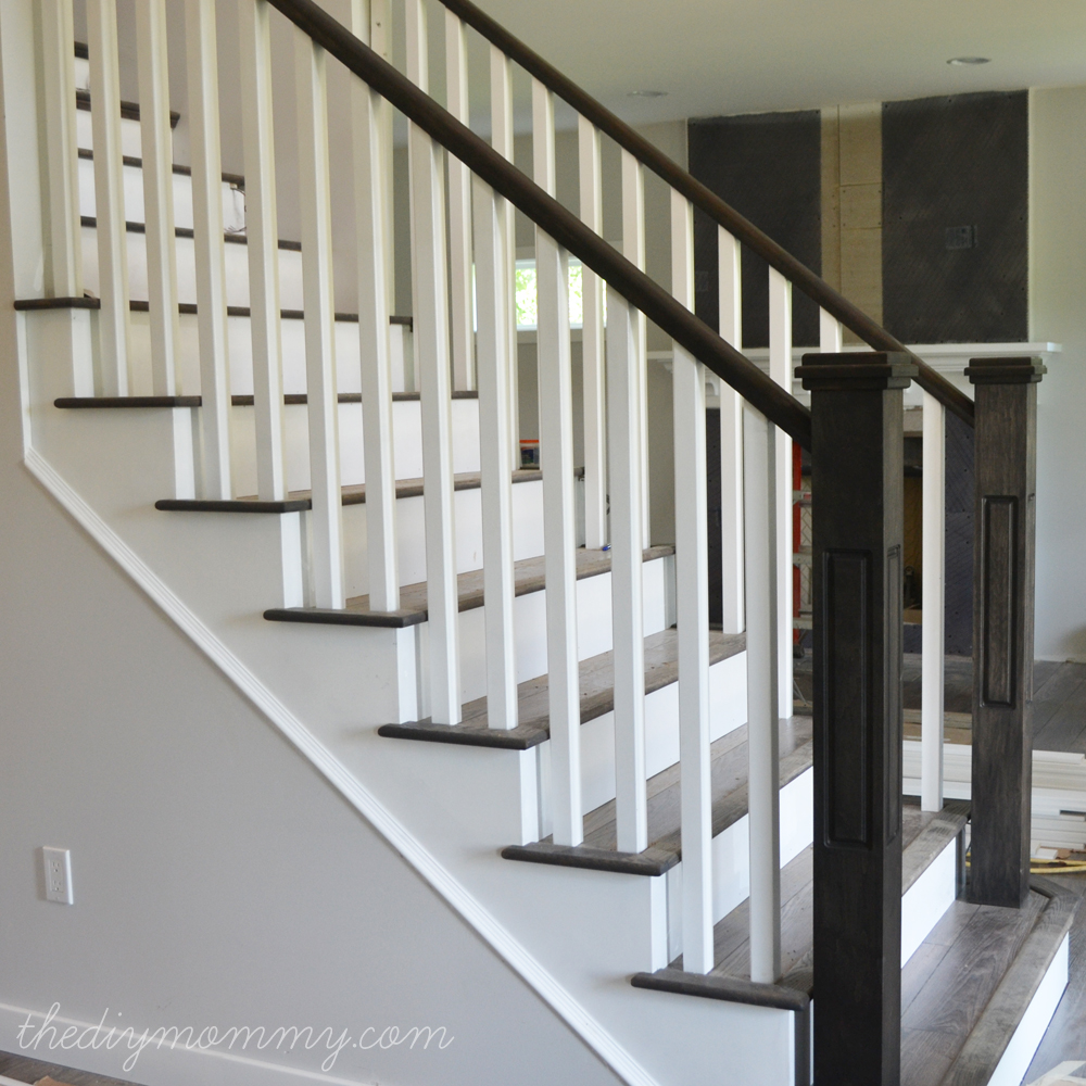 Bon Our DIY House   Craftsman Staircase   The DIY Mommy