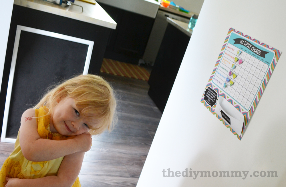 Free Printable Preschool Chore Chart - The DIY Mommy