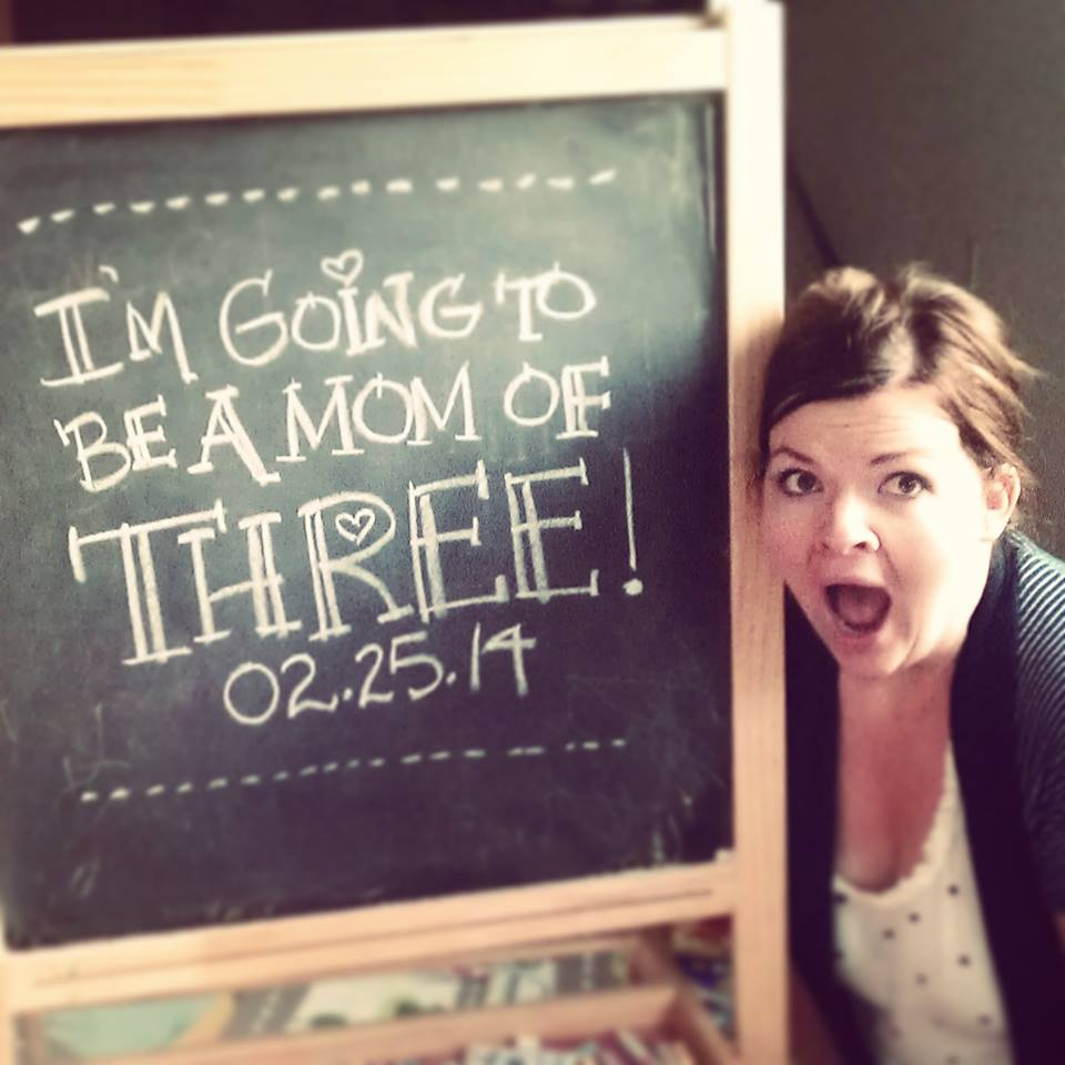I'm going to be a mom of THREE! The DIY Mommy