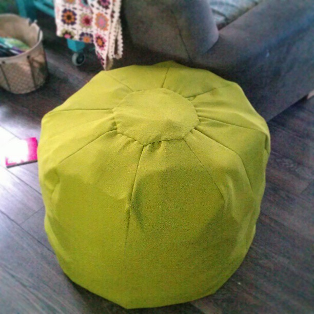 Sew A Floor Pouf With A Link To The Free Pattern Download Delectable Sew A Pouf