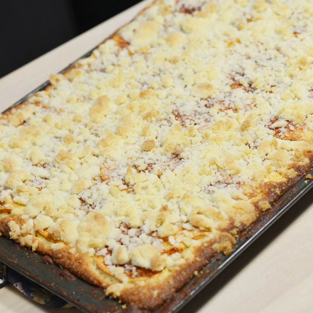 Apple Streusel Sheet Cake Recipe