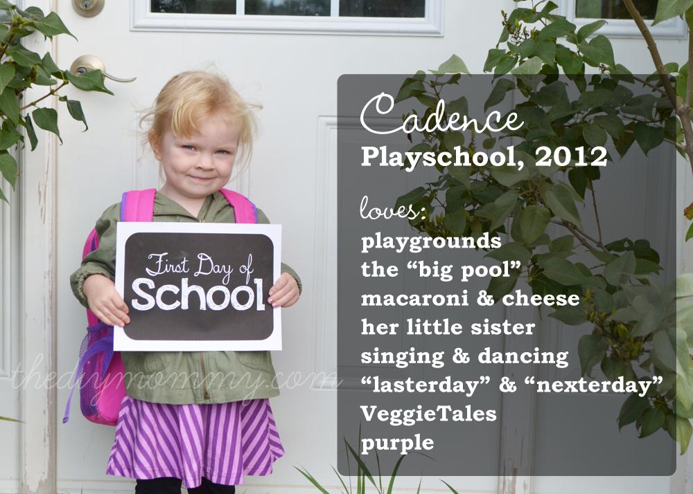 Take DIY Back-To-School Memories Photos - Free Printable Sign!