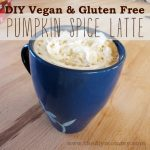 DIY Vegan & Gluten Free Pumpkin Spice Late - The DIY Mommy