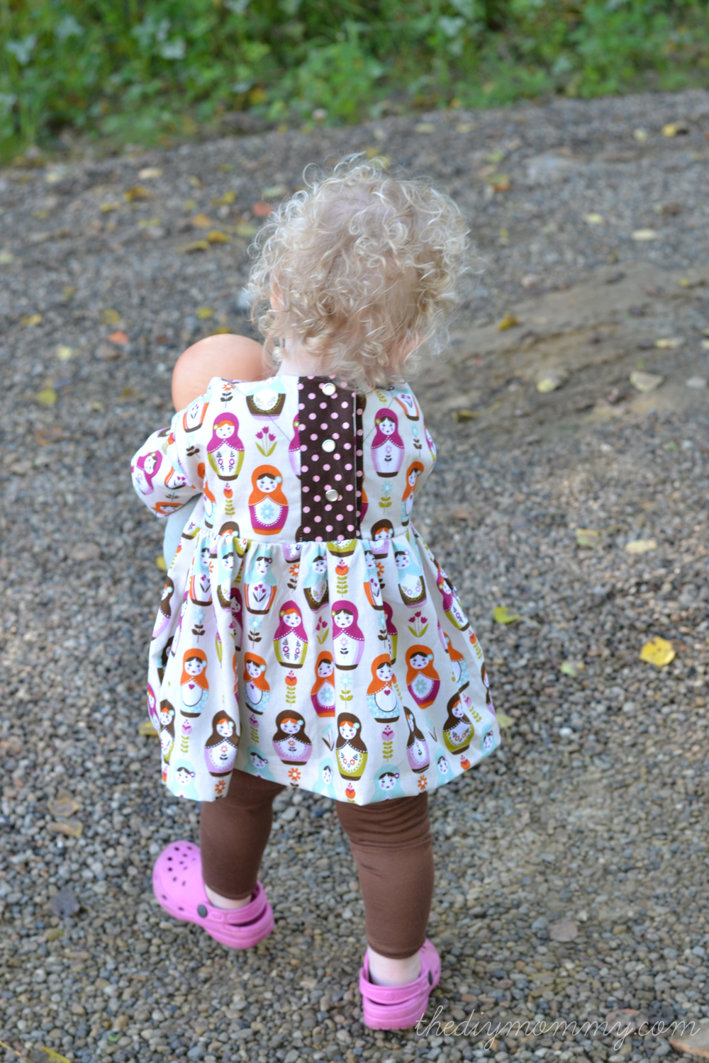 The Playtime Tunic + Leggings Sewing Pattern from Oliver + S | The