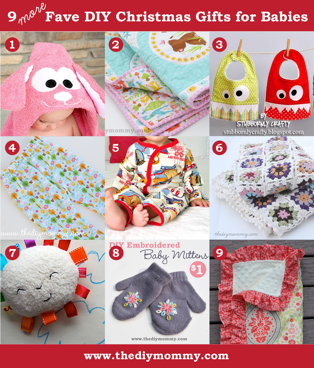 Baby Gift Ideas For Christmas : A handmade christmas more diy baby gifts the mommy