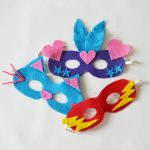 Easy DIY Felt Dress Up Masks - The DIY Mommy