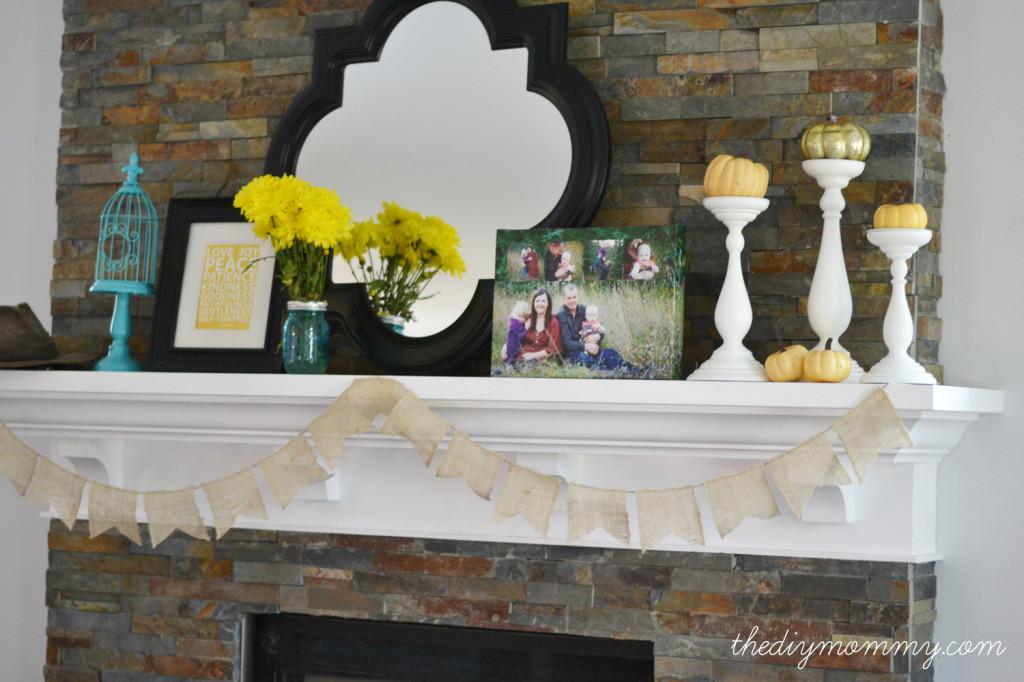 No-Sew DIY Burlap Bunting Banner - The DIY Mommy