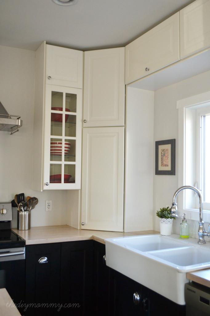 Our DIY Vintage Industrial Kitchen - The DIY Mommy #FinishYourKitchen