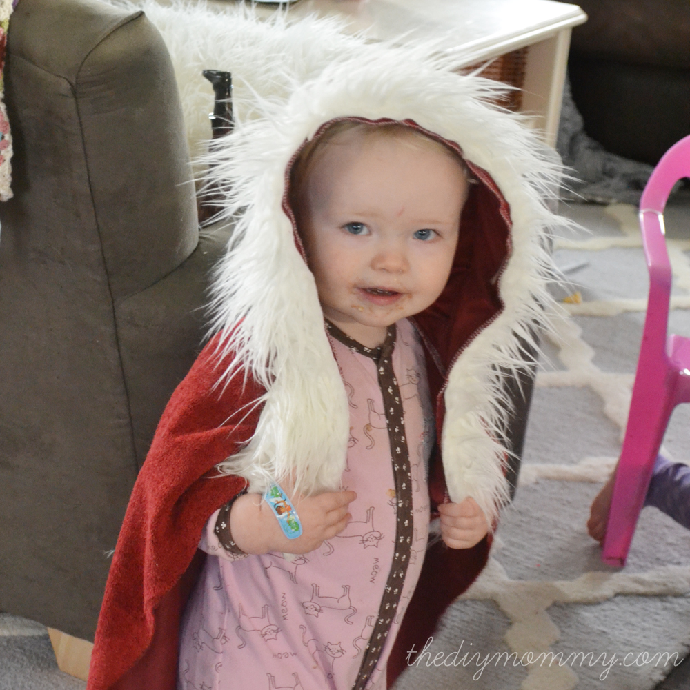 DIY Winter Belle Cape by The DIY Mommy