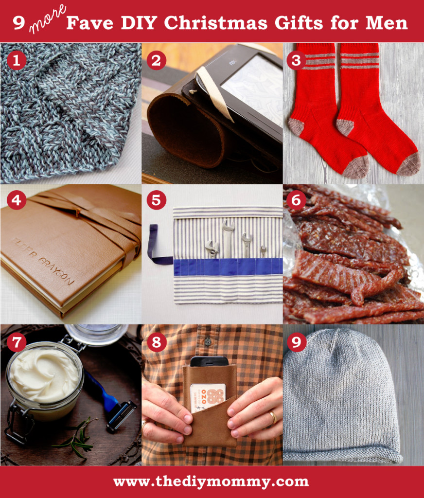 Diy Handmade Christmas Present Ideas For Men By The Mommy
