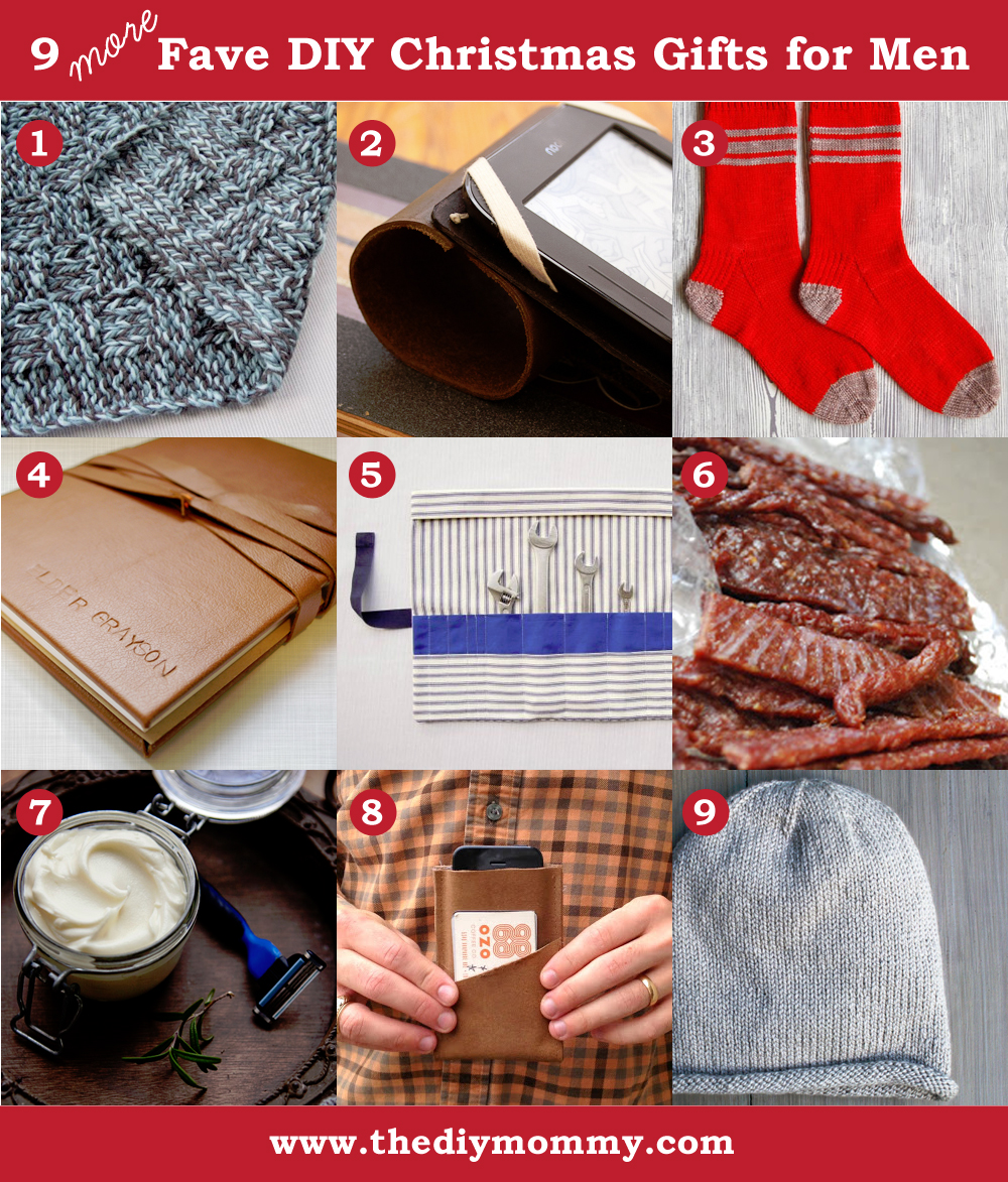 A Handmade Christmas More DIY Gifts For Men The DIY Mommy