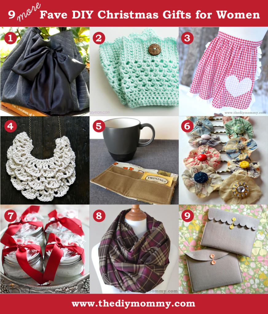 Scarf the diy mommy for Homemade christmas gift baskets for couples