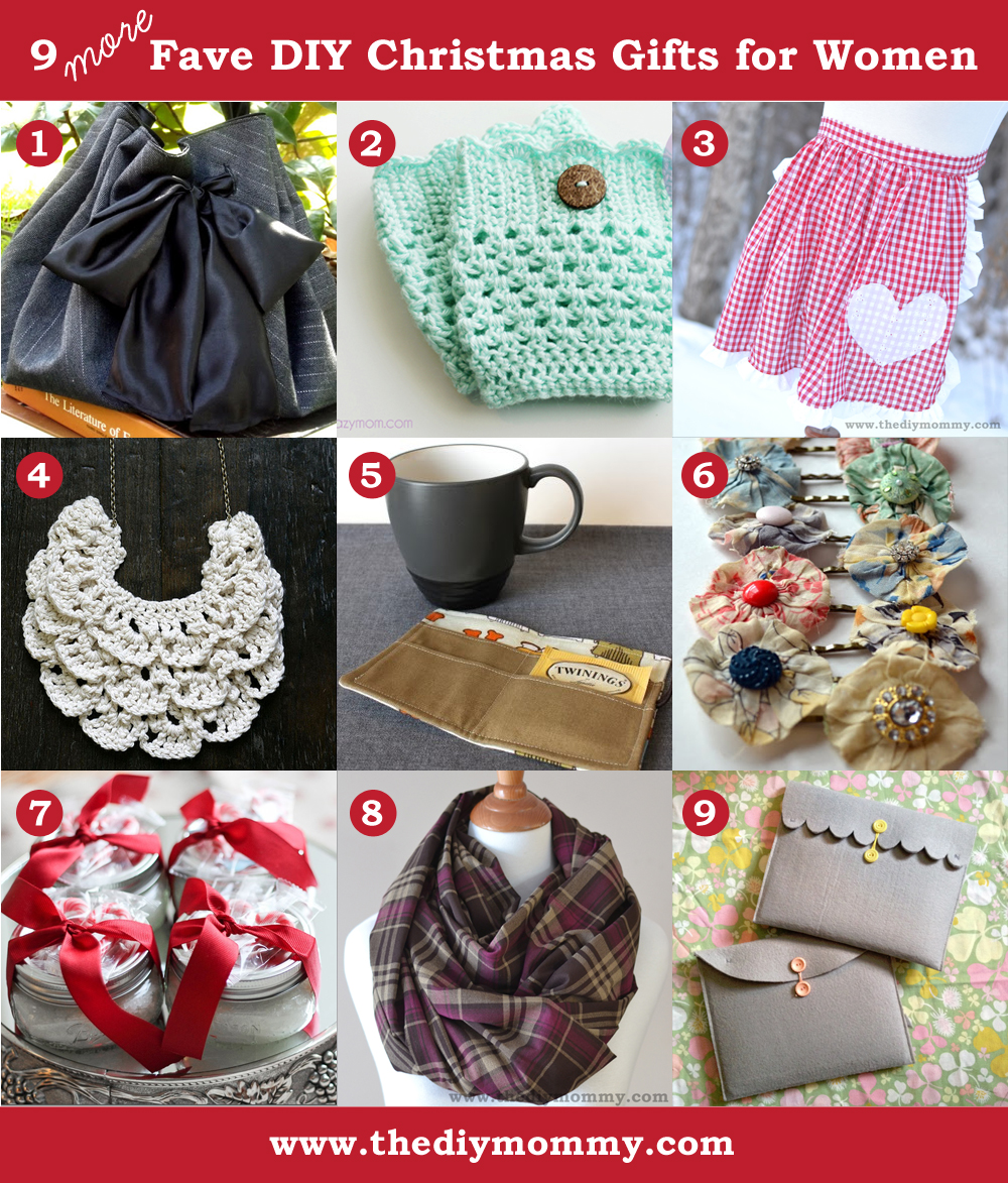 Christmas Presents For Women.A Handmade Christmas More Diy Gifts For Women The Diy Mommy