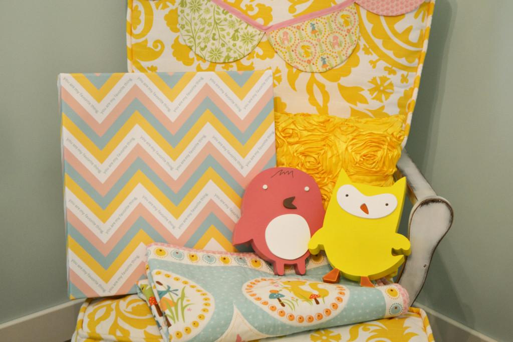 Baby A's Room Decor - The DIY Mommy