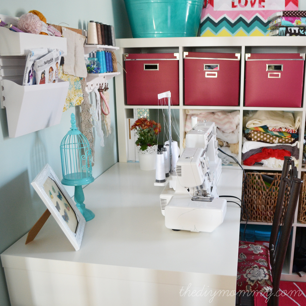 My Colourful Craft Room Office Our Diy House The Diy Mommy