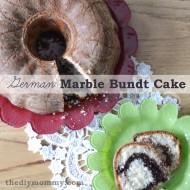 German Baking: Marble Bundt Cake