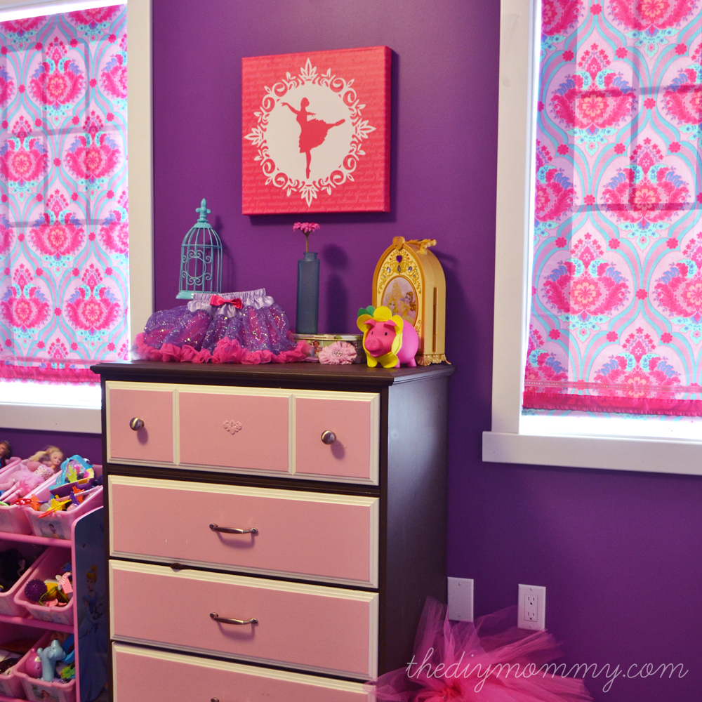 A Bright Jewel Toned Kid S Room In Purple Hot Pink And Turquoise The Diy
