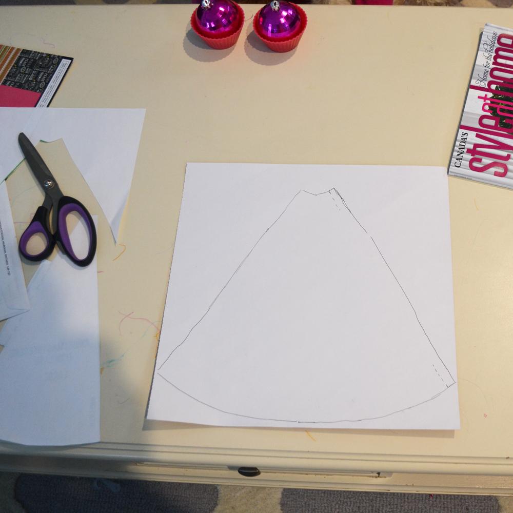 DIY Scrapbook Paper Christmas Tree Cones