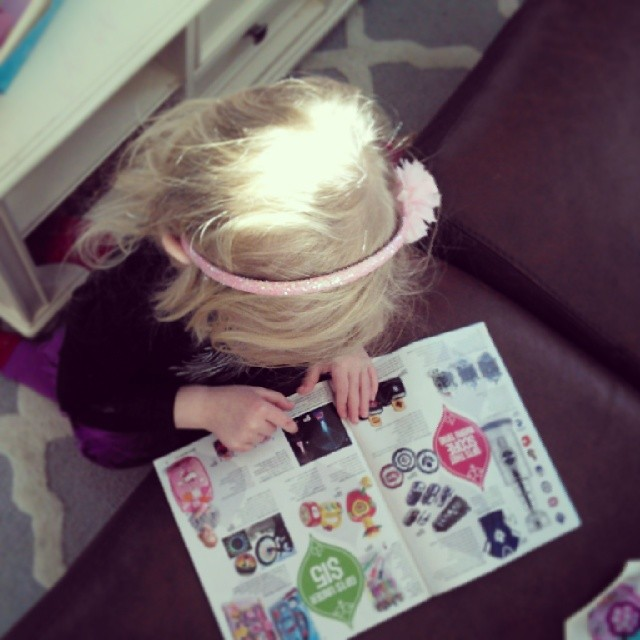 Little C and the Sears Toy Book