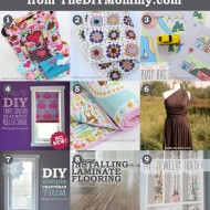 9 Favourite Tutorials of 2013 from The DIY Mommy