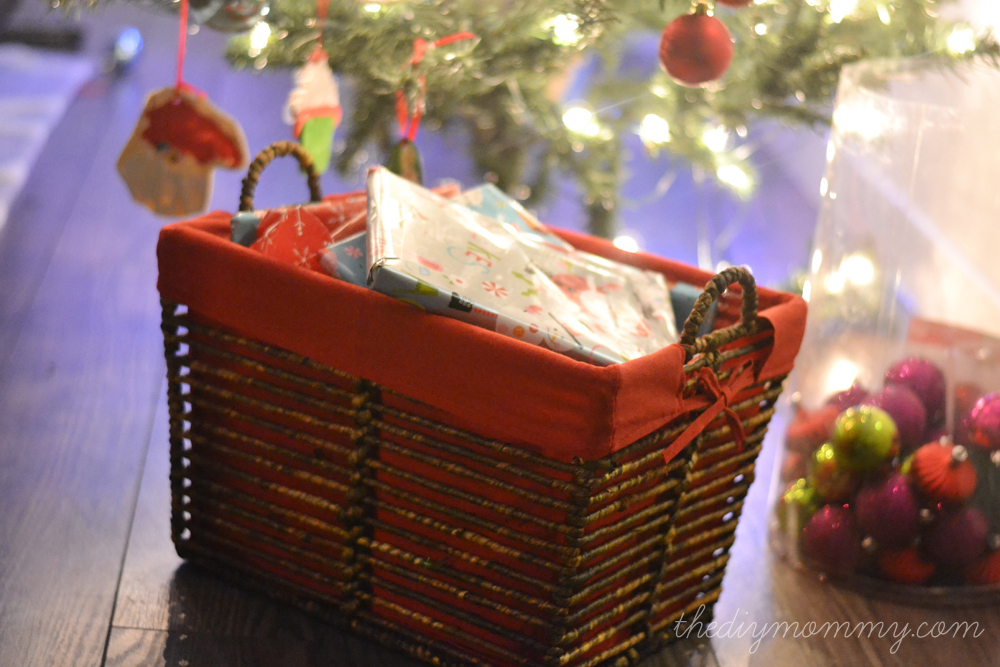 Fill a basket with small, wrapped presents to open each day of Advent! Christmas books, movies, crafts, puzzles...
