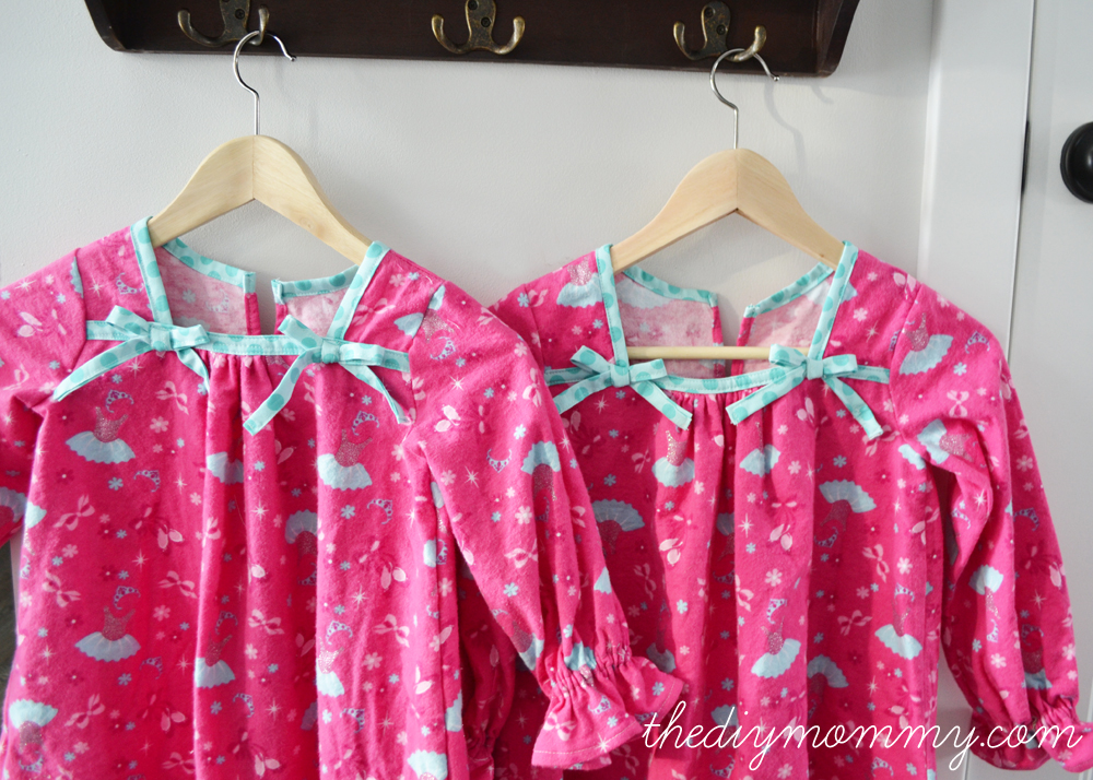 Christmas Nightgowns for My Girls (With ruffles & bows, of course ...