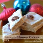 German Baking: Honey Cakes (Honigkuchen) - The DIY Mommy