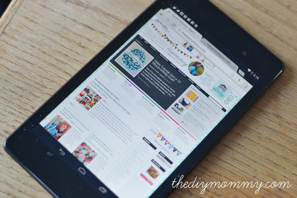 Nexus 7 Review - The DIY Mommy