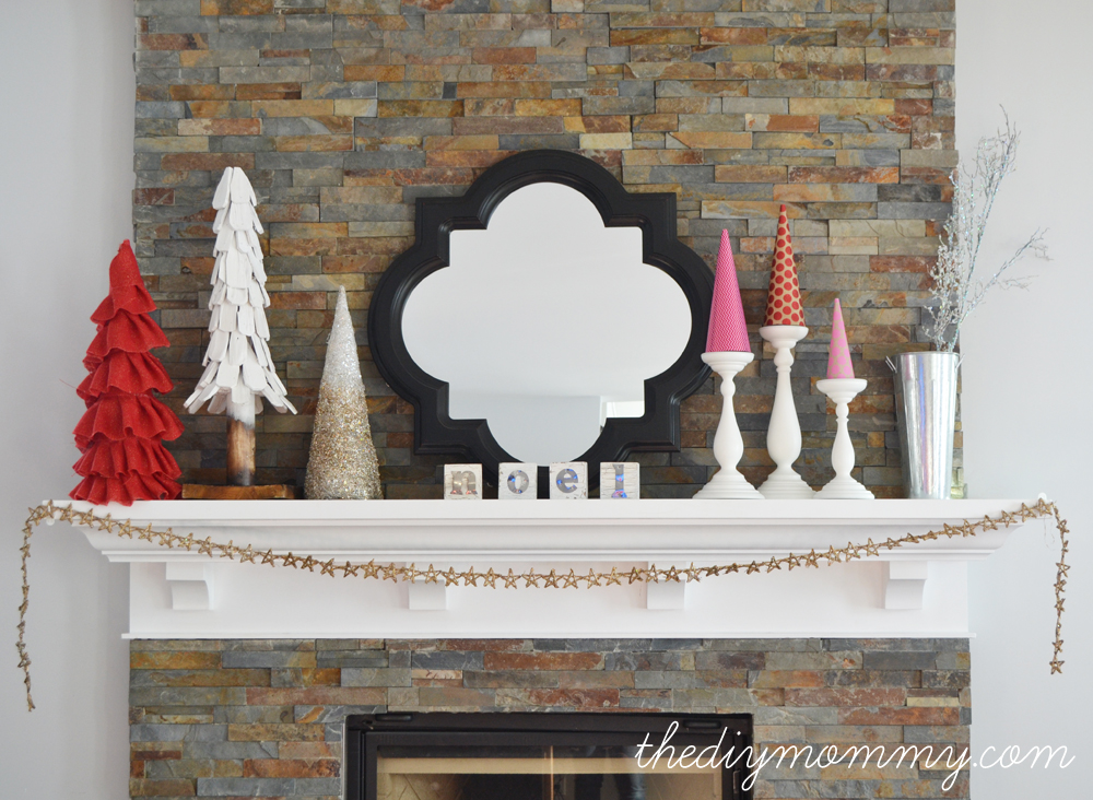 DIY Ruffled Burlap Christmas Tree by The DIY Mommy