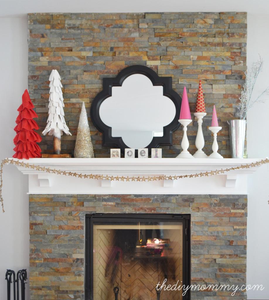 DIY Ruffled Burlap Christmas Tree by The DIY Mommy