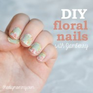 DIY Floral Nails (+ Win Some Jamberry Nail Wraps – Giveaway Ends 01/25)