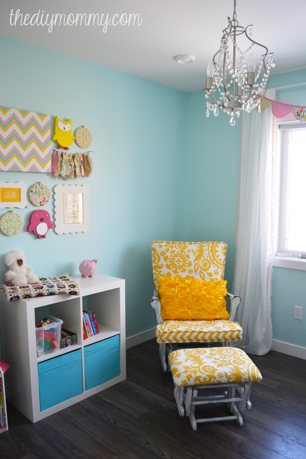 Little A\u0027s Sunny Woodland Nursery \u2013 Our DIY House | The DIY Mommy