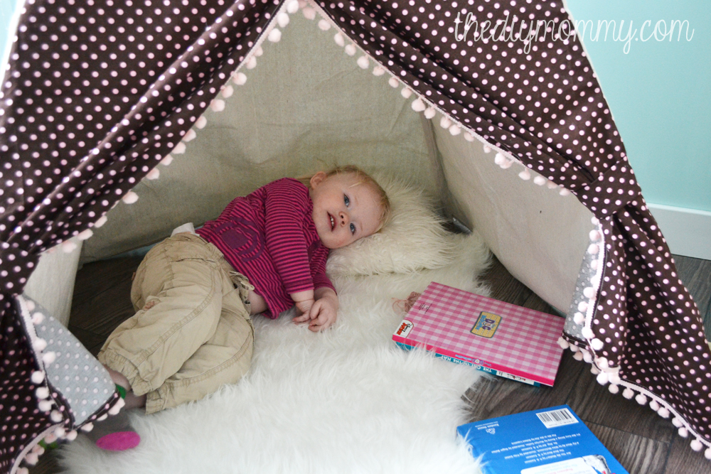 bf4f63b62b35 DIY Teepee Play Tent Tutorial by The DIY Mommy