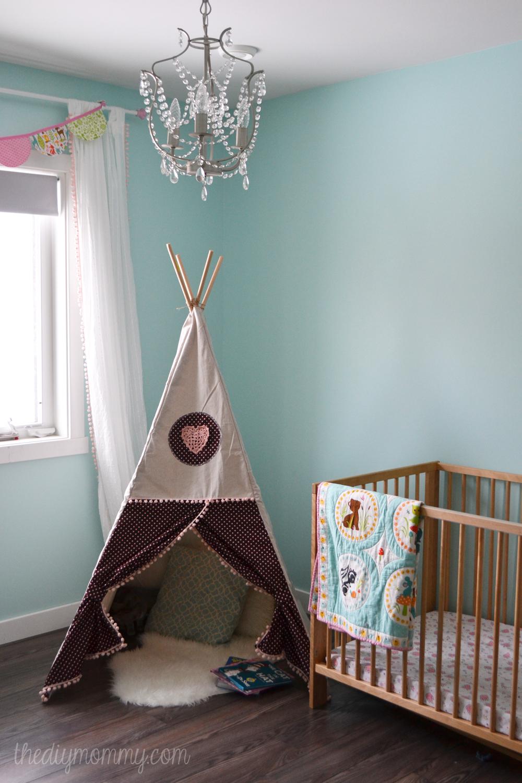 Super Sew a DIY Teepee Play Tent | The DIY Mommy KK36