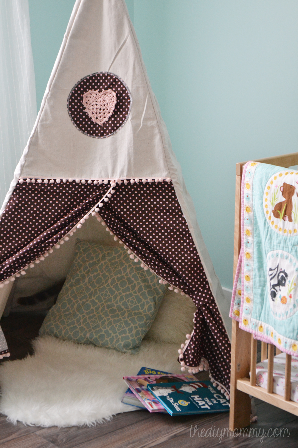 Sew A Diy Teepee Play Tent The Diy Mommy