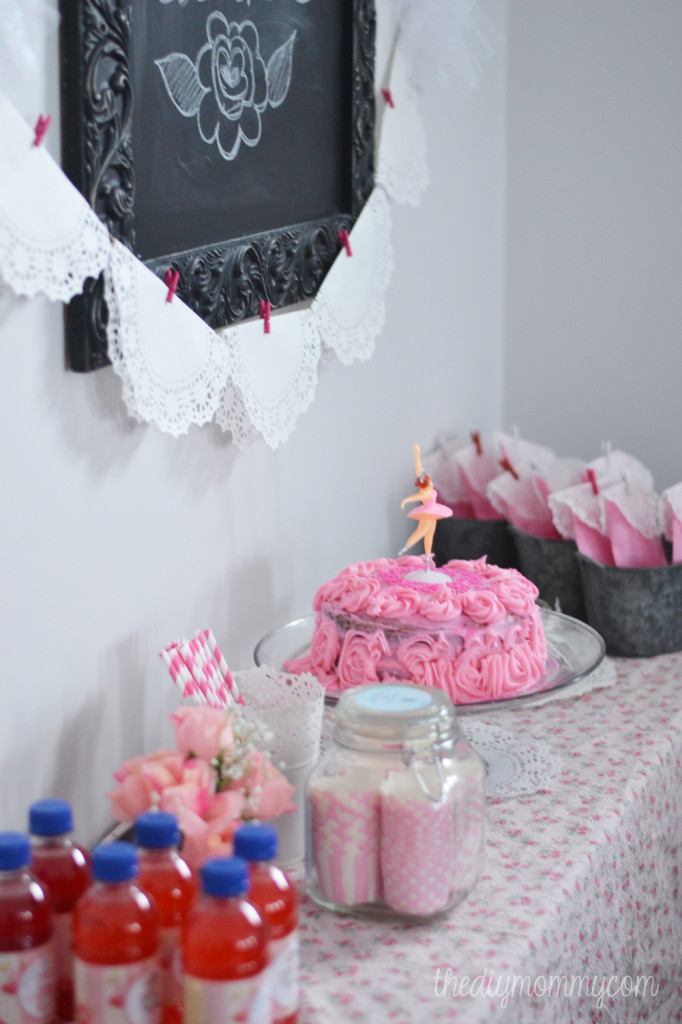 A Winter Ballerina Birthday Party