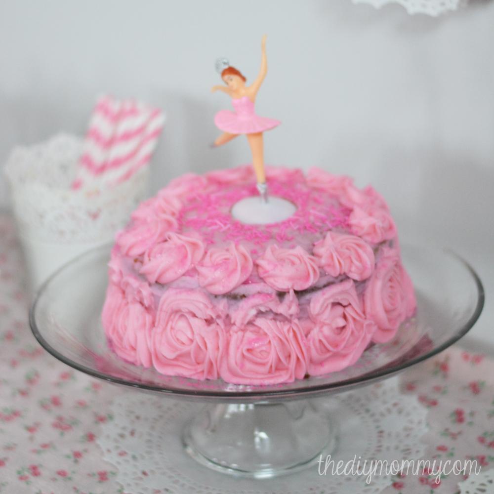 A Winter Ballerina Birthday Party
