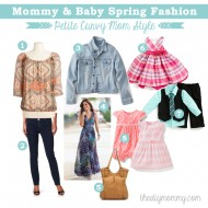 Mommy & Baby Spring Fashion – Petite Curvy Mom Style #SearsMom