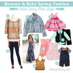 Mommy & Baby Spring Fashion - Petite Curvy Mom Style #SearsMom