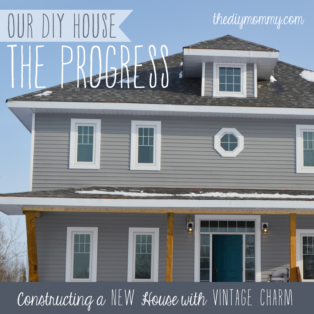 Our Diy House 2014 Home Tour: Our DIY House: The Progress (Taking It One Room At A Time