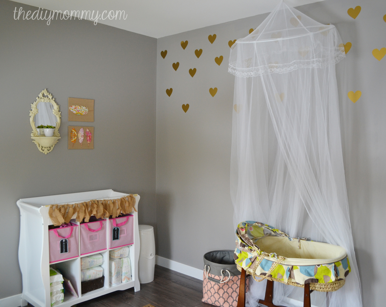 baby b s soft boho nursery the diy mommy