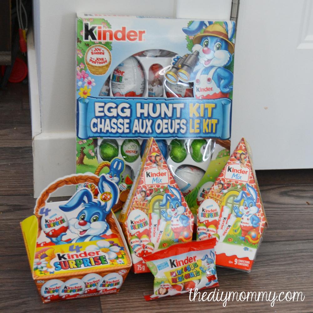 10 easy creative easter egg hunt ideas kindermom the diy mommy kinder suprise egg hunt kit negle Gallery