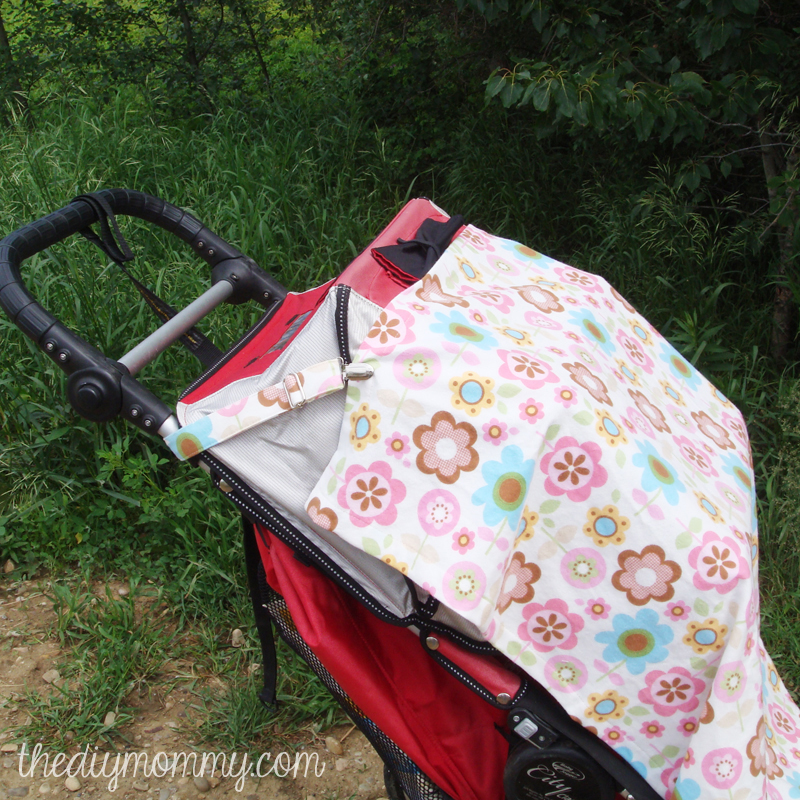 Sew a 3-in-1 Nursing Cover Stroller Shade and Carseat Canopy & Sew a 3-in-1 Nursing Cover Carseat Canopy and Stroller Shade ...