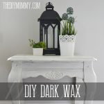 DIY Dark or Tinted Furniture Wax by The DIY Mommy